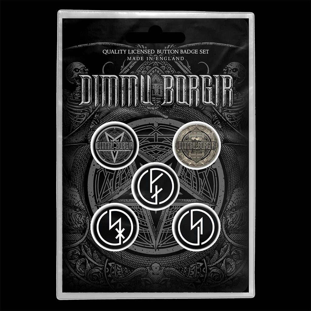 Dimmu Borgir - Eonian (Badge Pack)