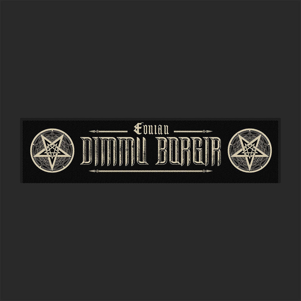 Dimmu Borgir - Eonian (Superstrip) (Woven Patch)