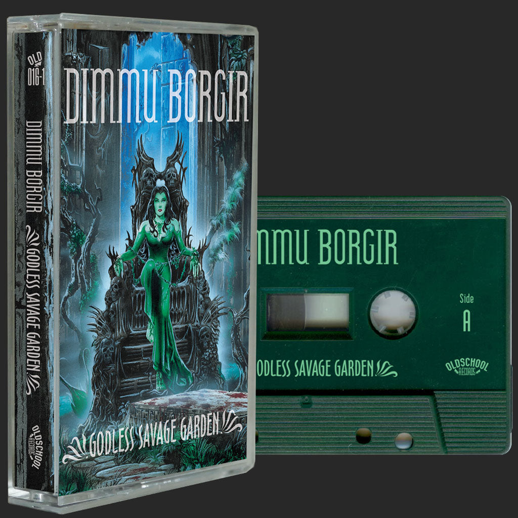 Dimmu Borgir - Godless Savage Garden (2018 Reissue) (Dark Green Edition) (Cassette)