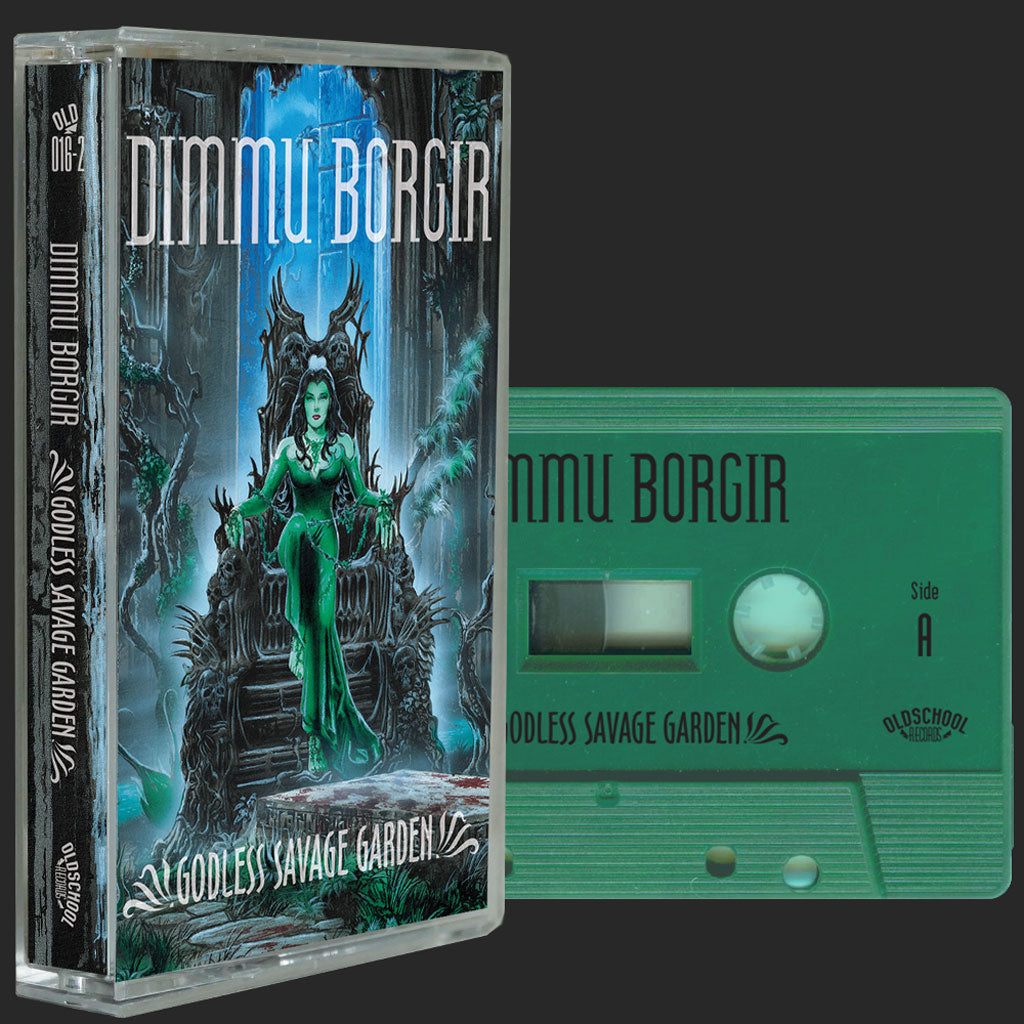 Dimmu Borgir - Godless Savage Garden (2018 Reissue) (Light Green Edition) (Cassette)