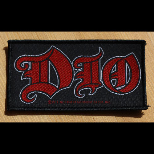Dio - Red Logo (Woven Patch)
