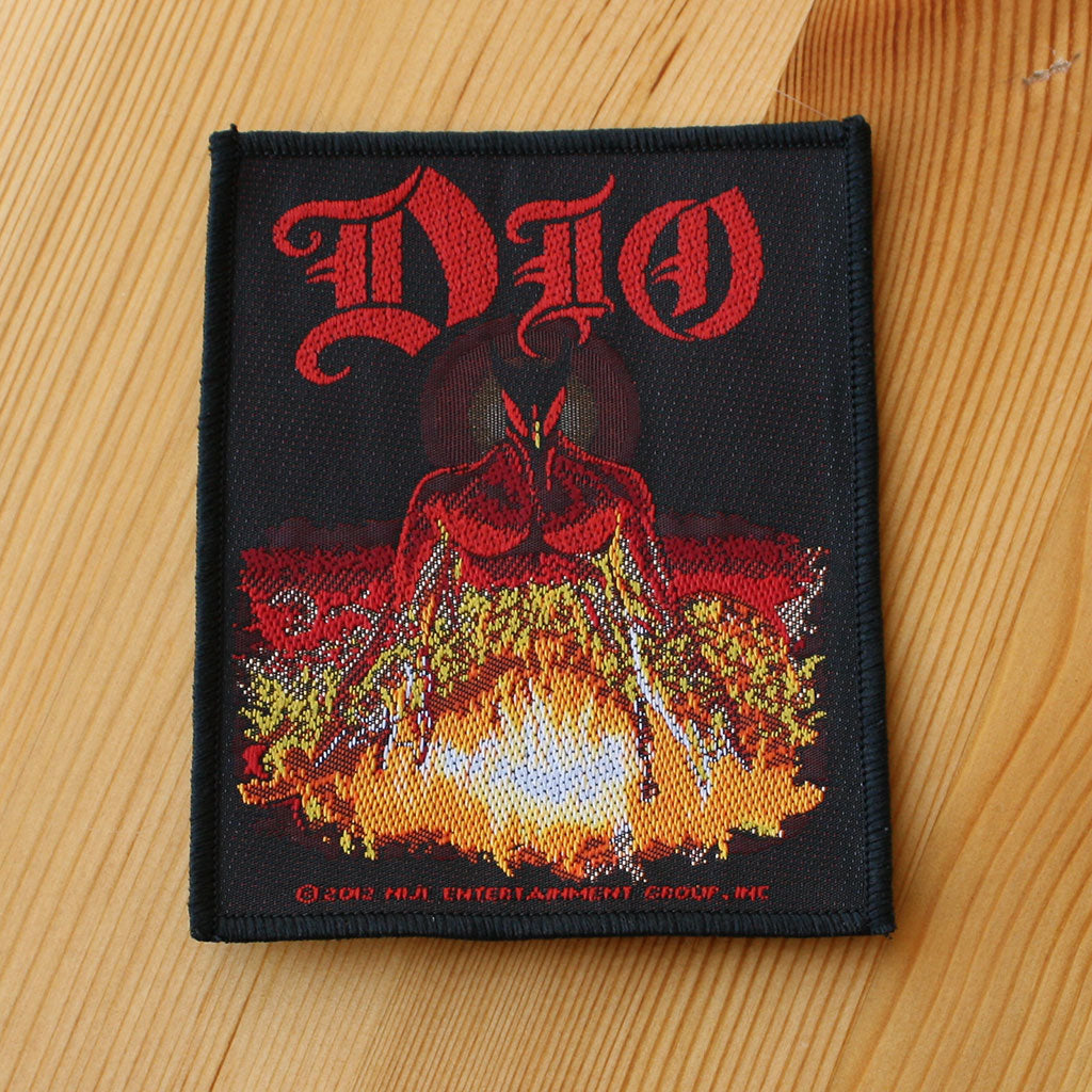Dio - The Last in Line (Woven Patch)