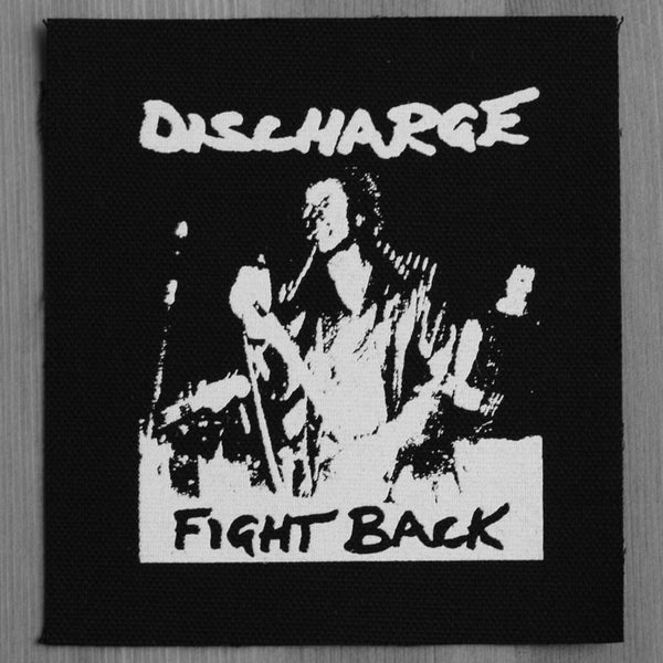 Discharge - Fight Back (Printed Patch)