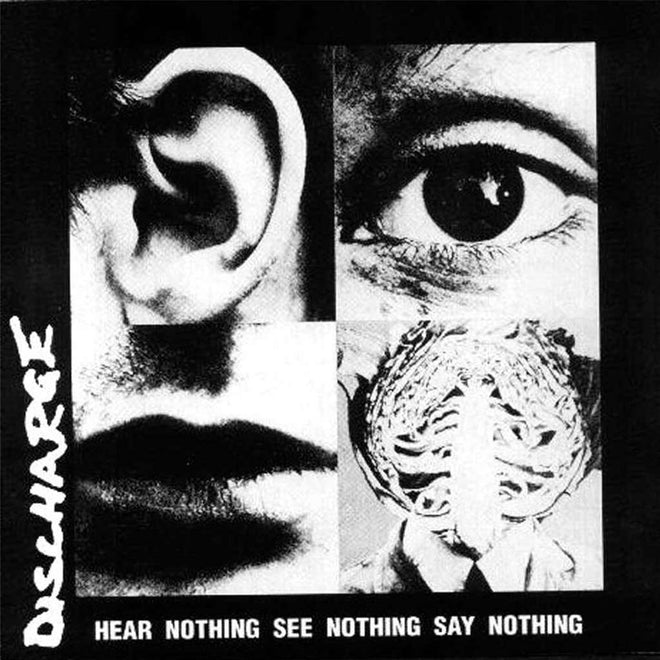 Discharge - Hear Nothing See Nothing Say Nothing (2020 Reissue) (Splatter Edition) (LP)