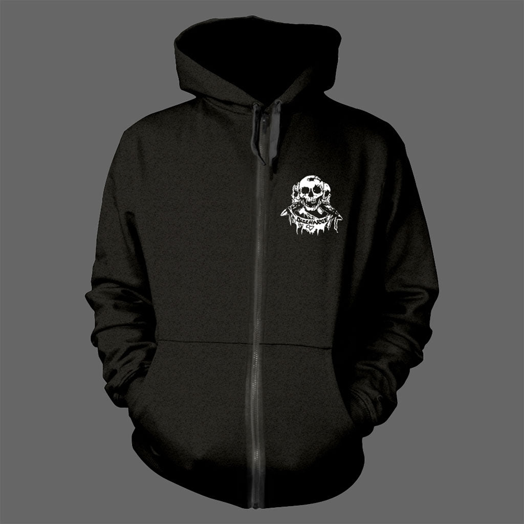 Discharge - Hear Nothing See Nothing Say Nothing (Full Zip Hoodie)