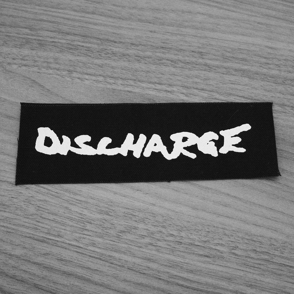 Discharge - Logo (Printed Patch)