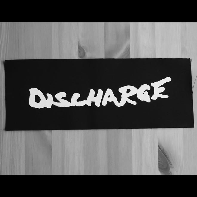 Discharge - Logo (Superstrip) (Backpatch)