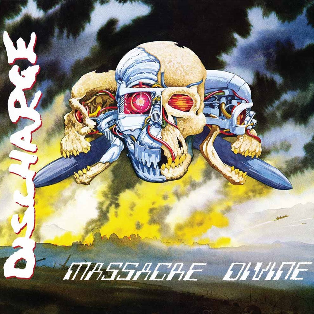 Discharge - Massacre Divine (2016 Reissue) (Digipak CD)