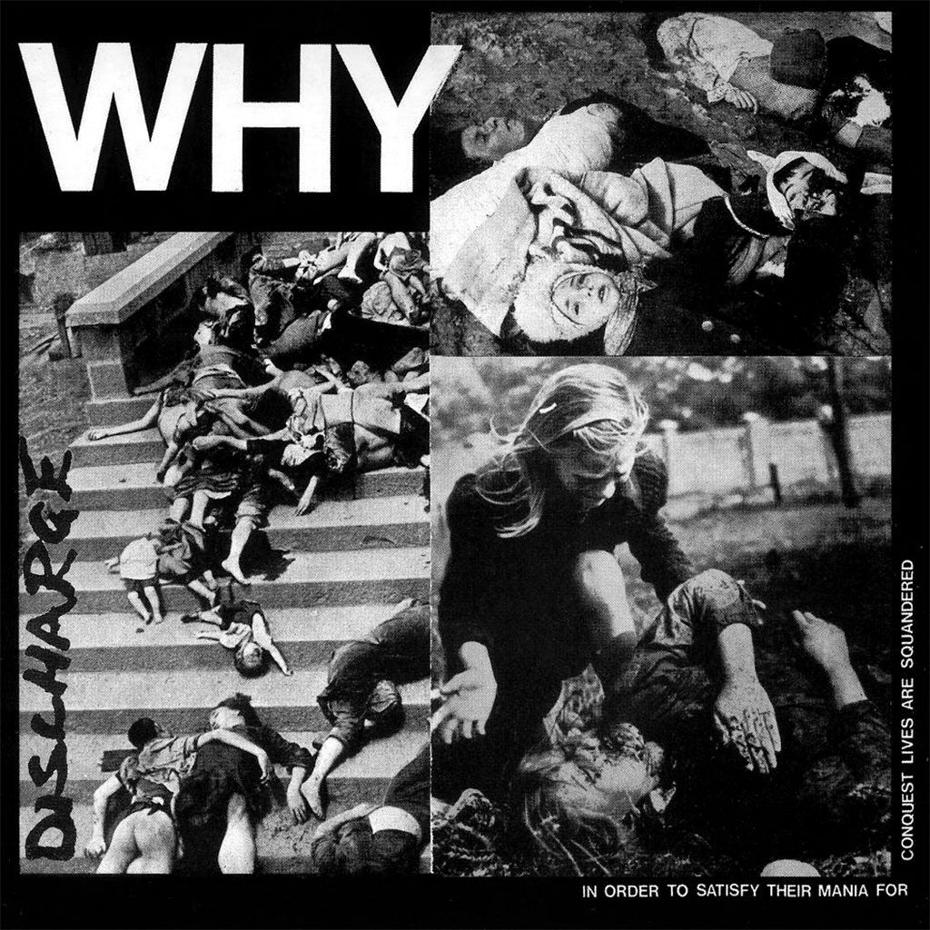 Discharge - Why (2016 Reissue) (LP)