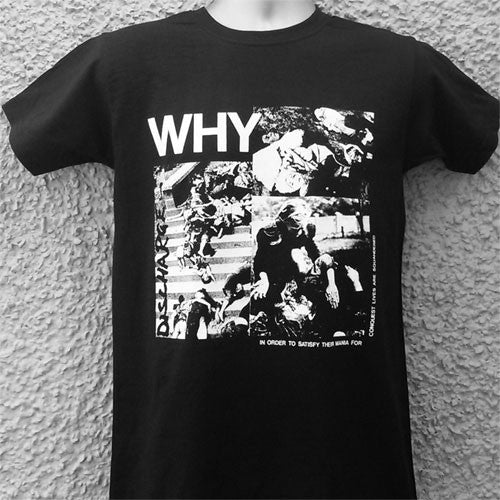 Discharge - Why (T-Shirt)