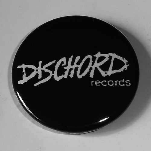 Dischord Records - White Logo (Badge)