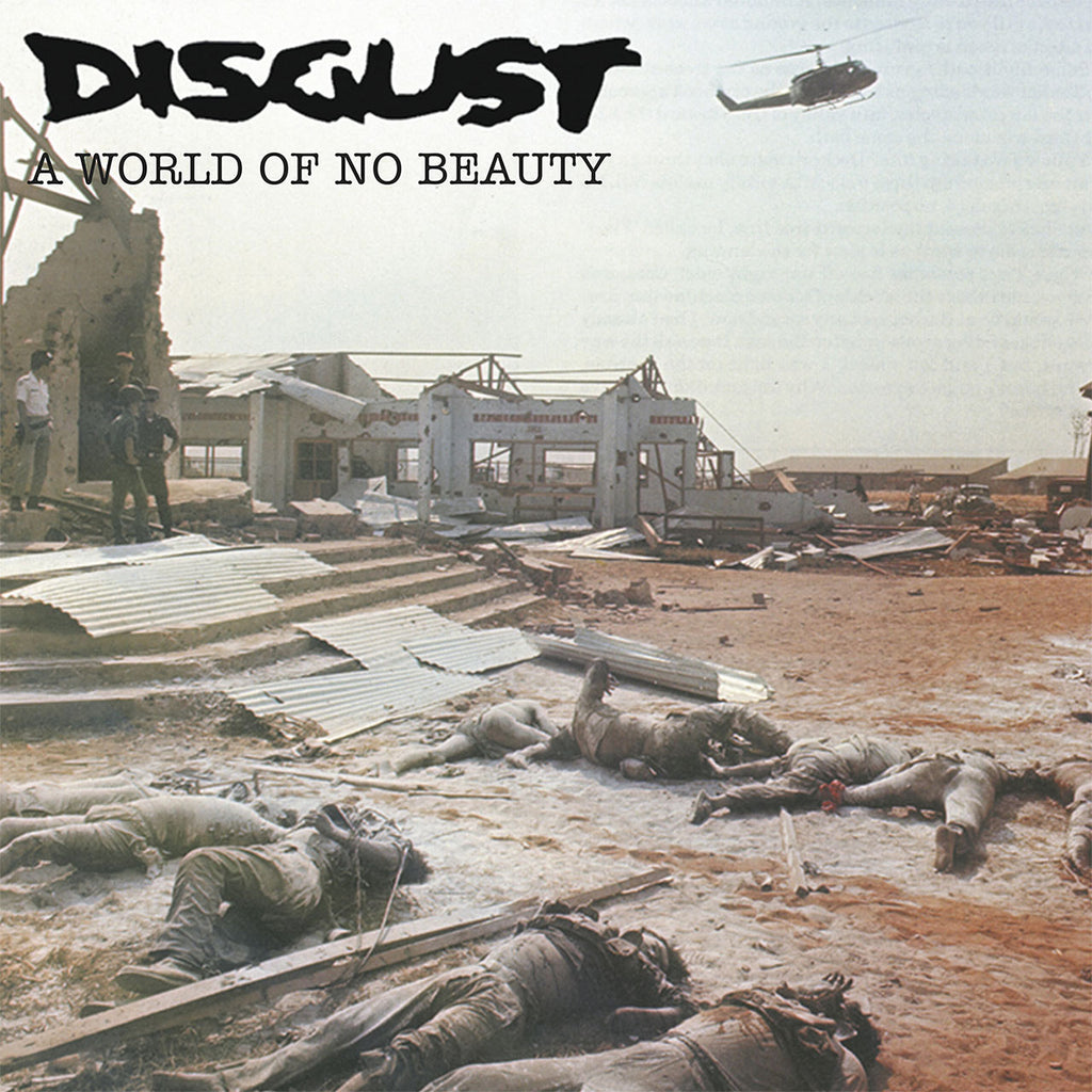 Disgust - A World of No Beauty (2008 Reissue) (Digipak CD)