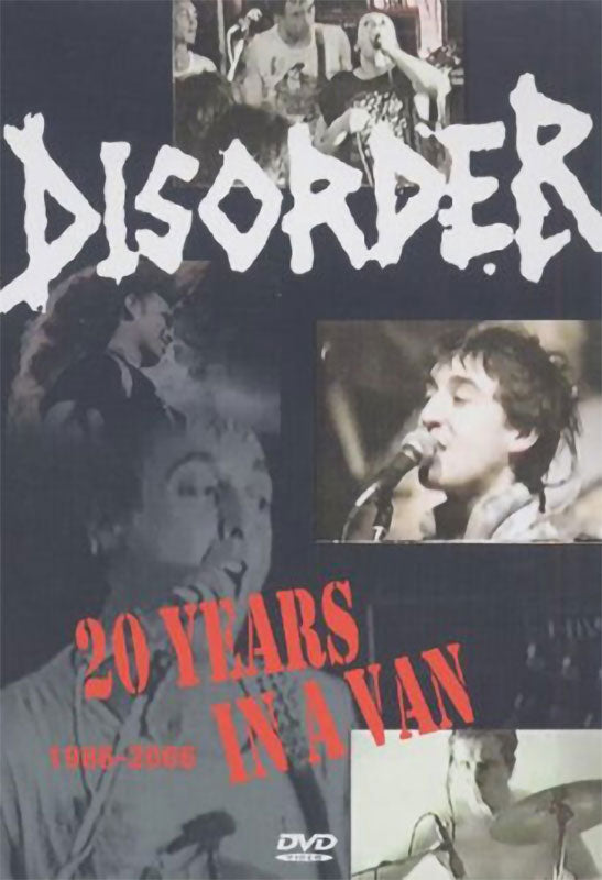 Disorder - 20 Years in a Van (1986-2006) (DVD)