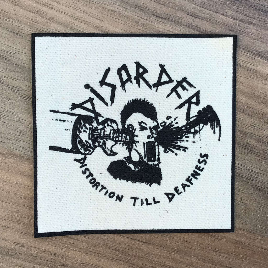 Disorder - Distortion Till Deafness (Printed Patch)