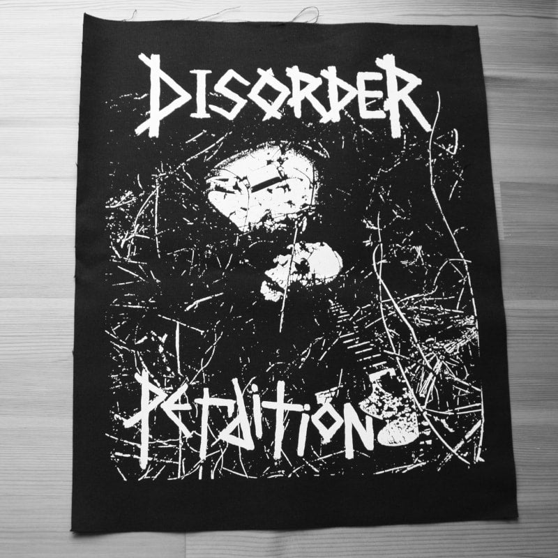 Disorder - Perdition (Backpatch)