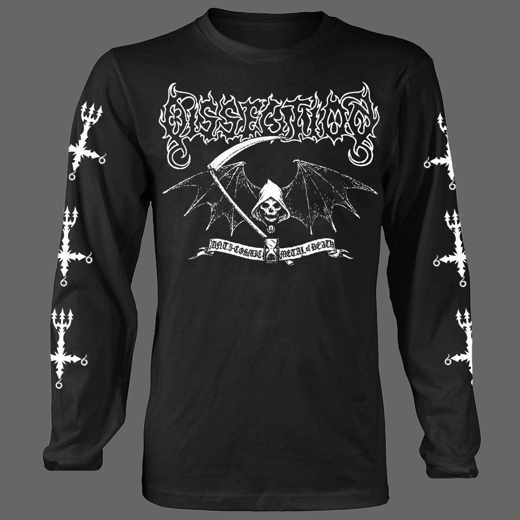 Dissection - Reaper / Anti-Cosmic Metal of Death (Long Sleeve T-Shirt)