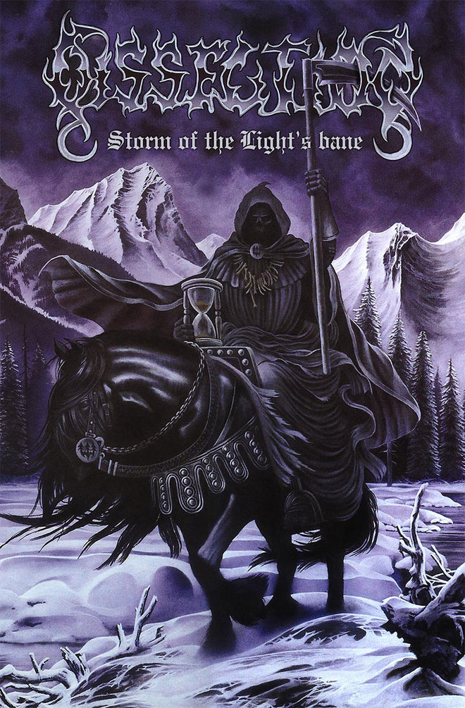 Dissection - Storm of the Light's Bane (Textile Poster)