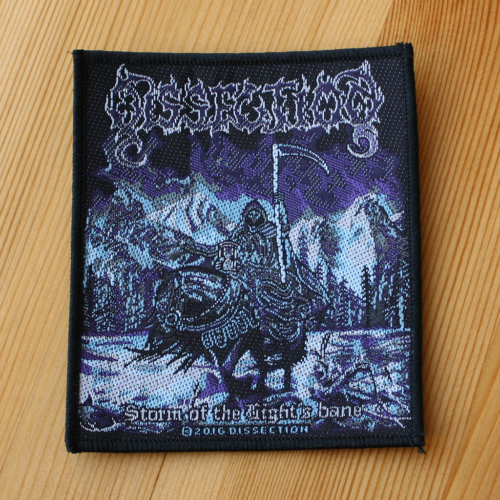 Dissection - Storm of the Light's Bane (Woven Patch)