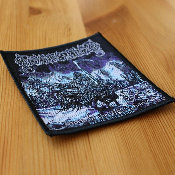 DISSECTION Where Dead Angles Lie Printed Small Patch NEW