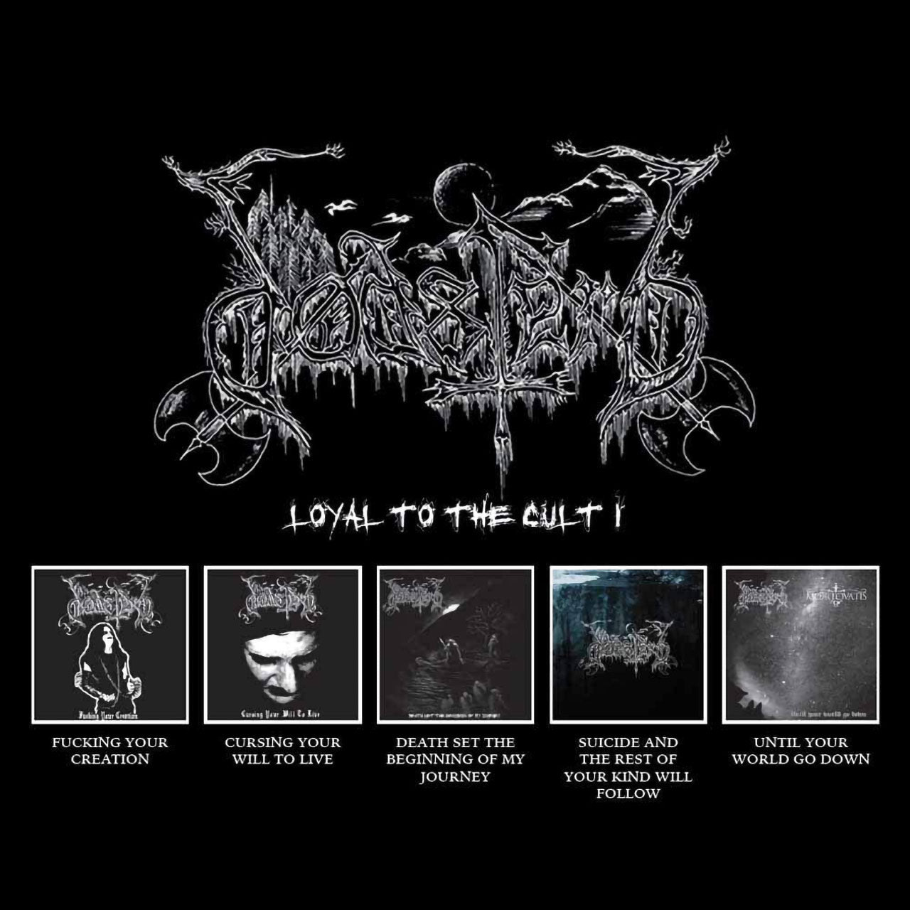 Dodsferd - Loyal to the Cult I (5CD)