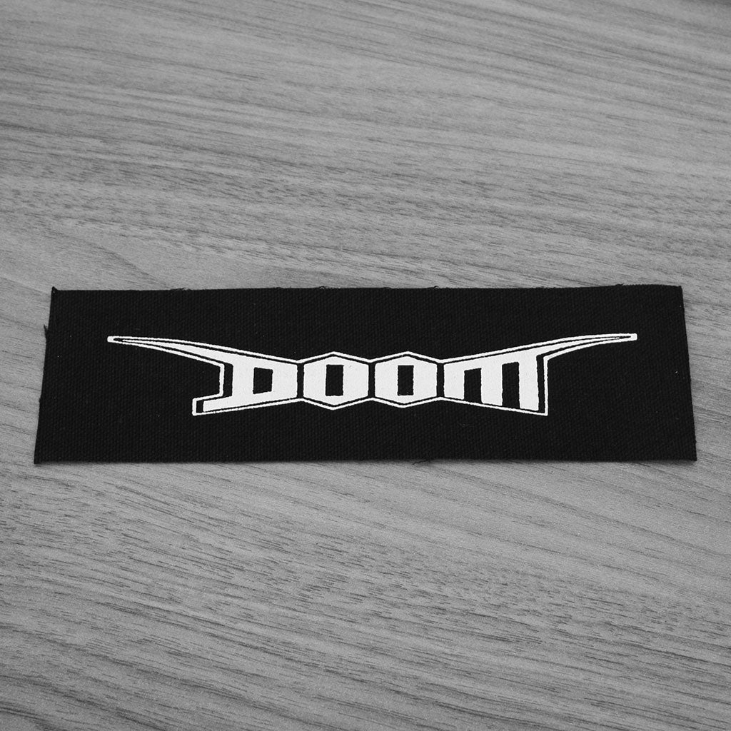 Doom - New Logo (Printed Patch)