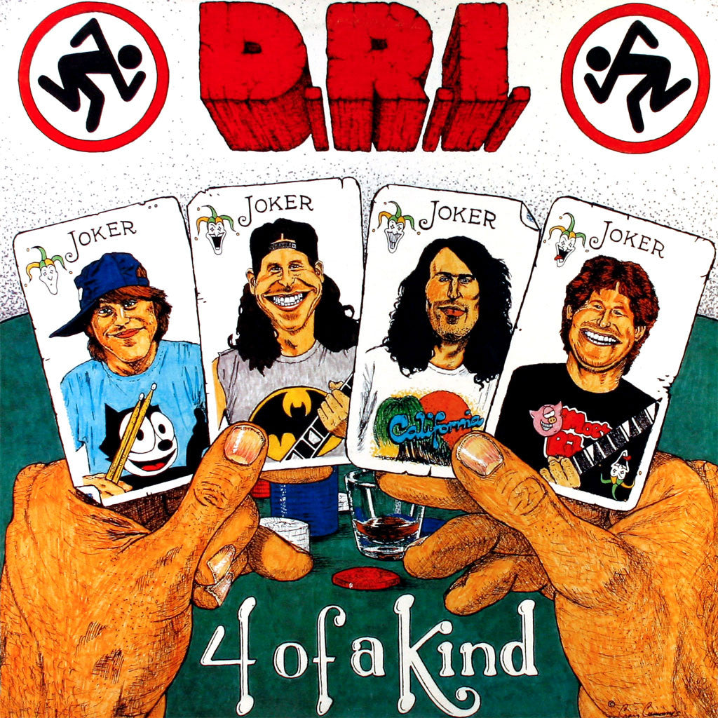 D.R.I. - 4 of a Kind (1992 Reissue) (CD)