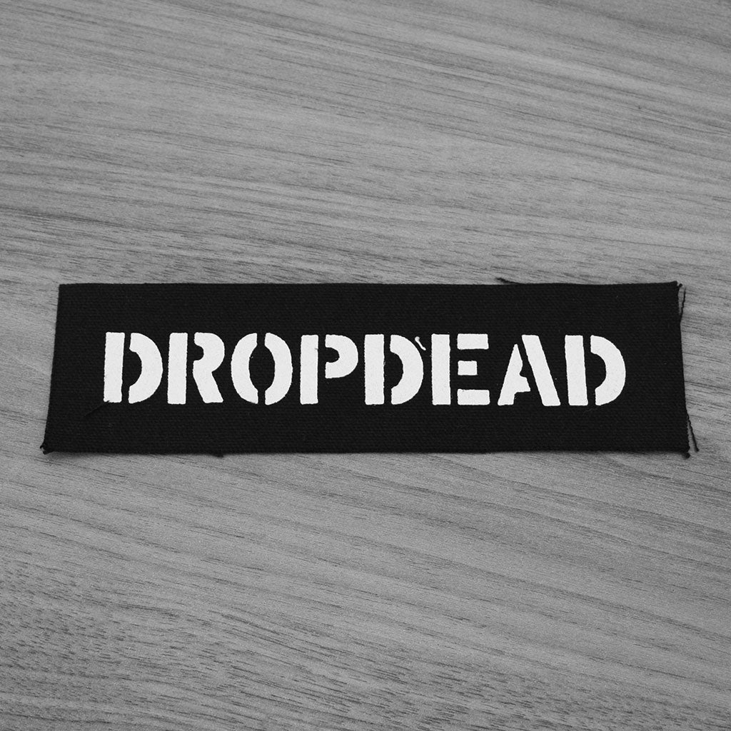 Dropdead - Logo (Printed Patch)