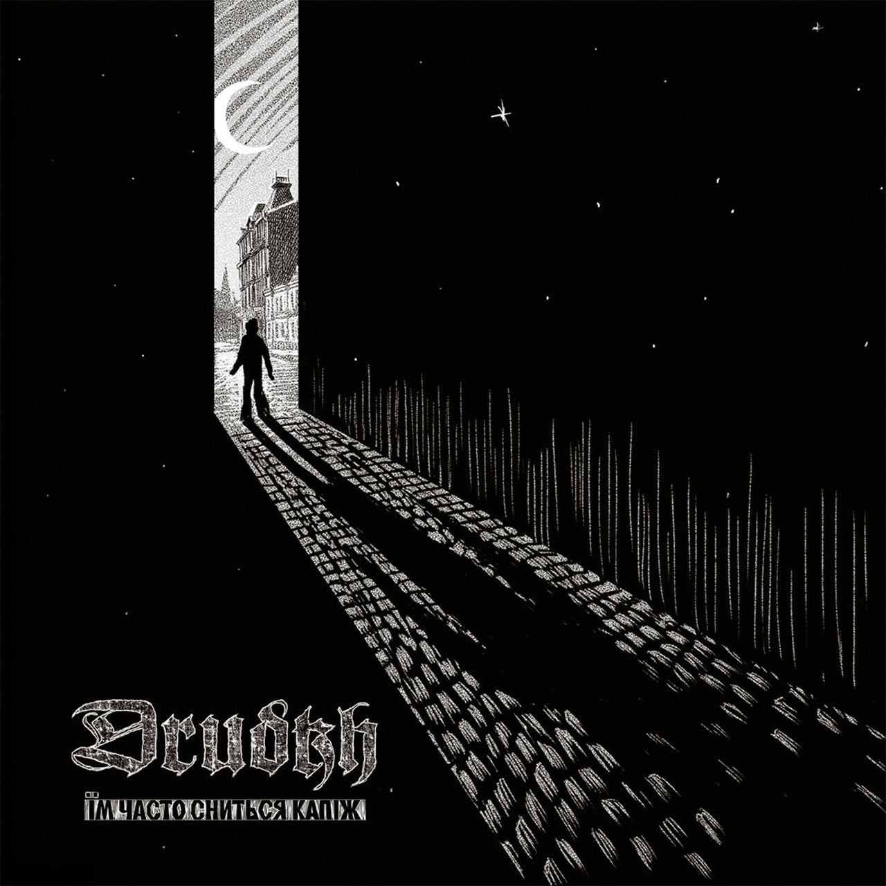 Drudkh - They Often See Dreams About the Spring (Їм часто сниться капіж) (Black Edition) (LP)