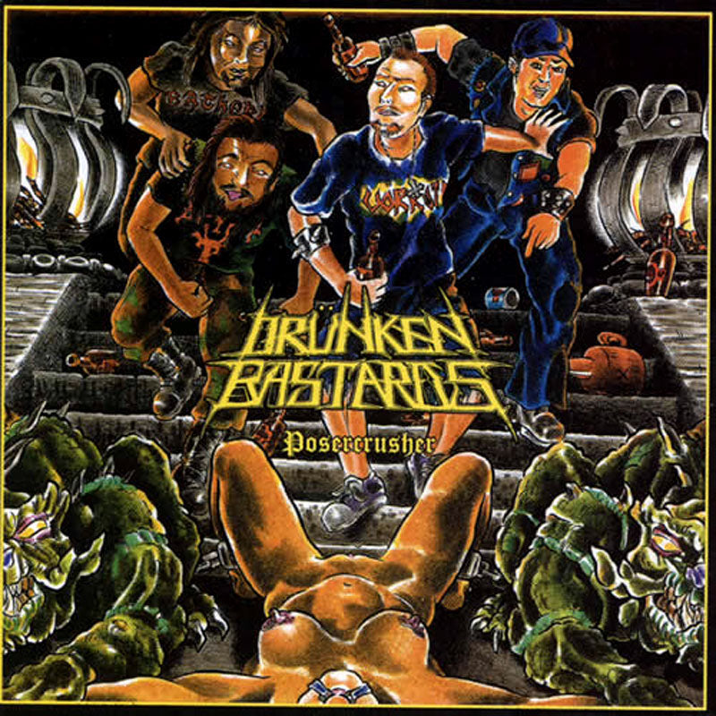 Drunken Bastards - Posercrusher (CD)