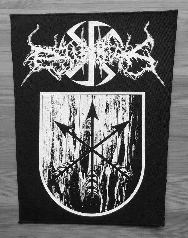 Dub Buk - Logo & Shield (Backpatch)