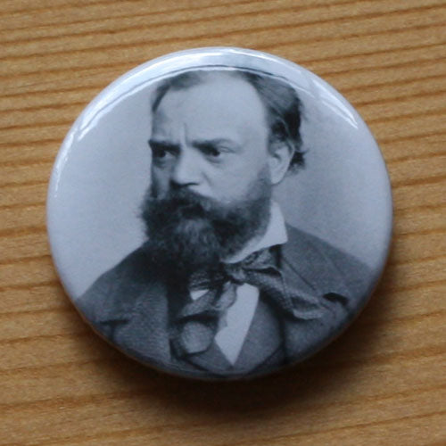 Dvorak - 1882 Portrait (Badge)