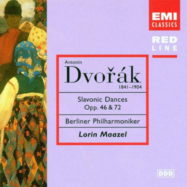 Dvorak - Slavonic Dances Op 46 & Op 72 (Berliner Philharmoniker, Maazel) (1997 Reissue) (CD)