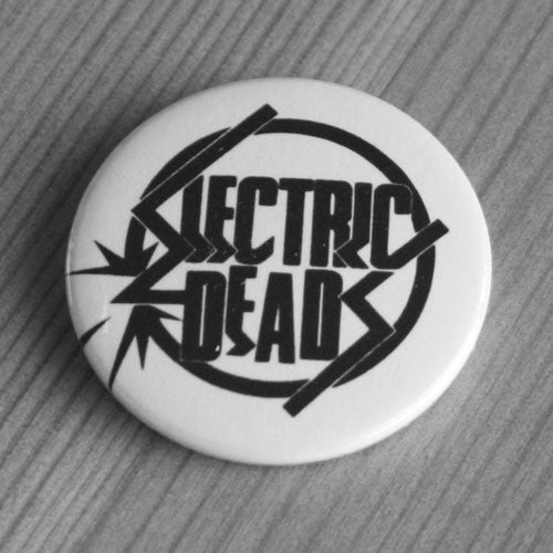 Electric Deads - Black Logo (Badge)