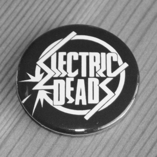 Electric Deads - White Logo (Badge)