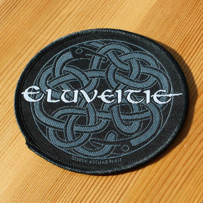 Eluveitie - Logo & Celtic Knot (Woven Patch)