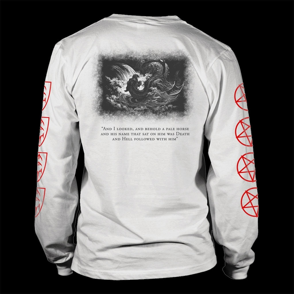 Emperor - Emperor / Leviathan (White) (Long Sleeve T-Shirt)