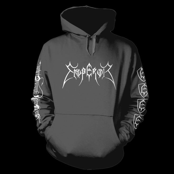 Emperor - In the Nightside Eclipse (Grey) (Hoodie)