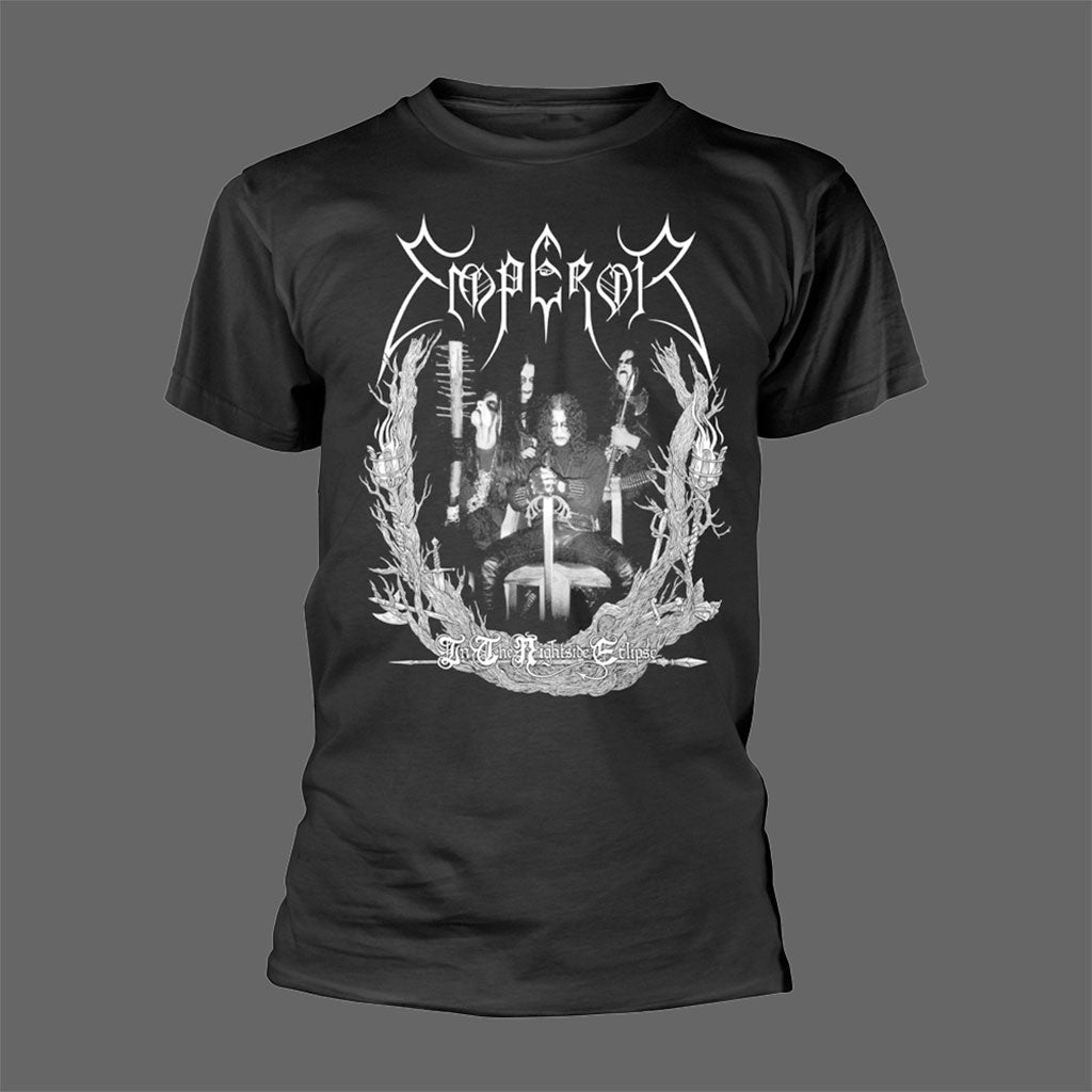 Emperor - In the Nightside Eclipse (Old Band Photo) (T-Shirt)
