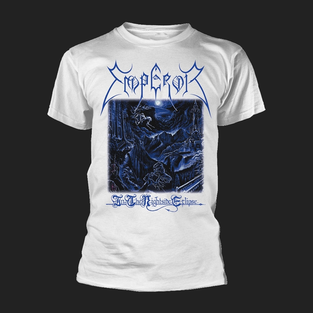 Emperor - In the Nightside Eclipse (White) (T-Shirt)