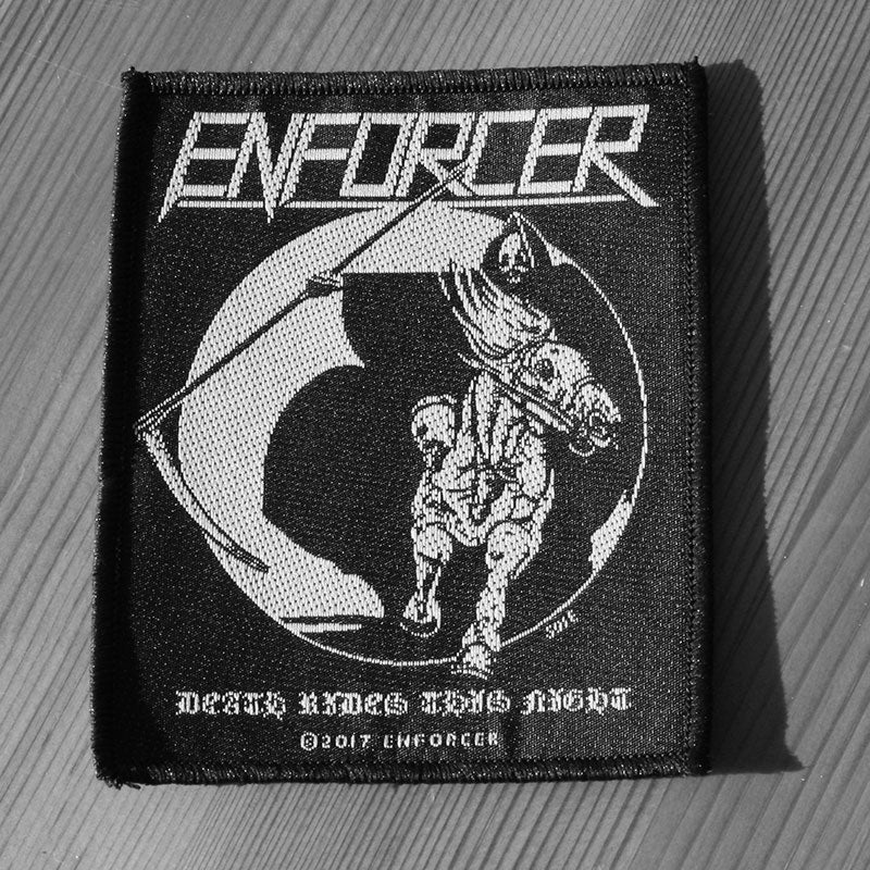 Enforcer - Death Rides This Night (Woven Patch)