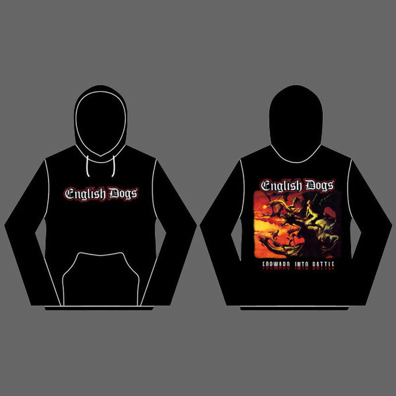 English Dogs - Forward Into Battle (Hoodie)