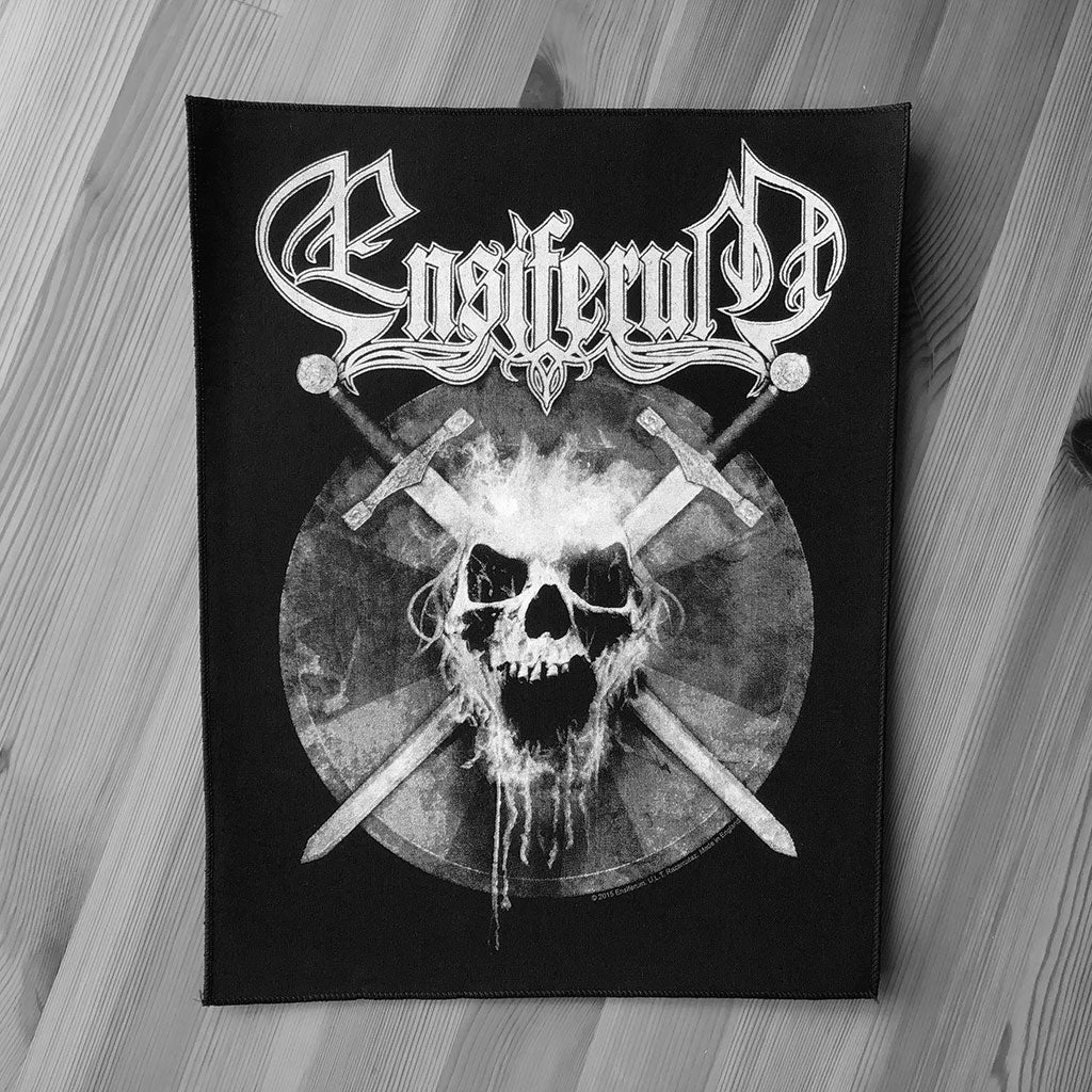 Ensiferum - Skull (Backpatch)