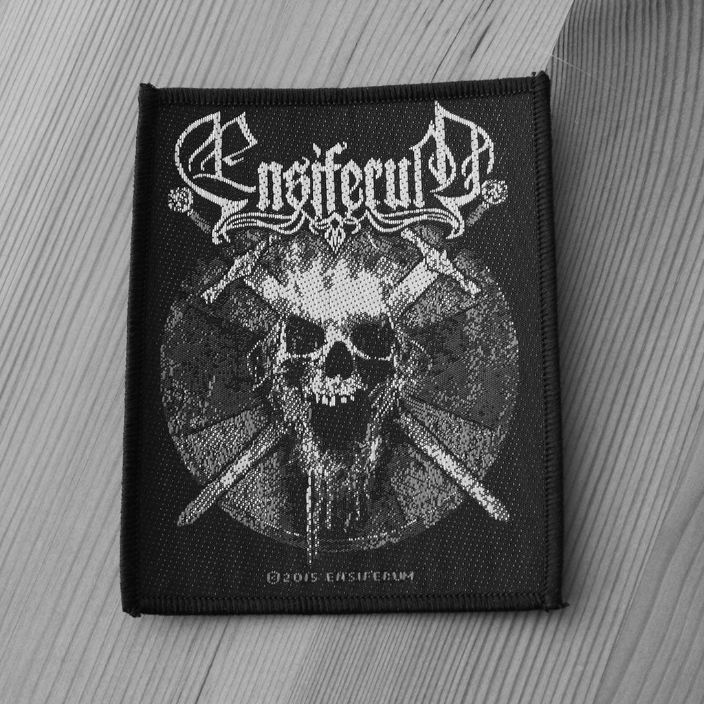 Ensiferum - Skull (Woven Patch)