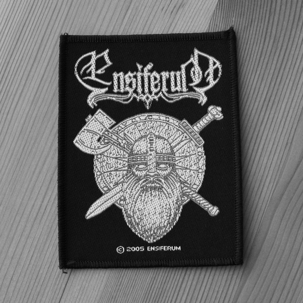 Ensiferum - Sword & Axe (Woven Patch)