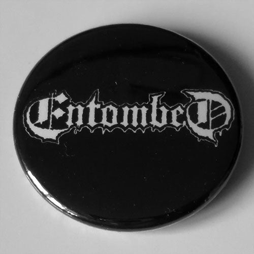 Entombed - White Logo (Badge)