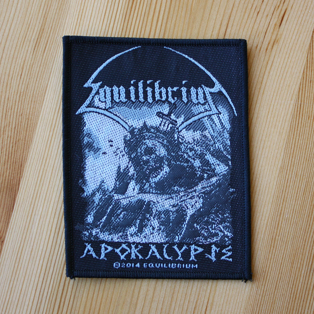 Equilibrium - Apokalypse (Woven Patch)