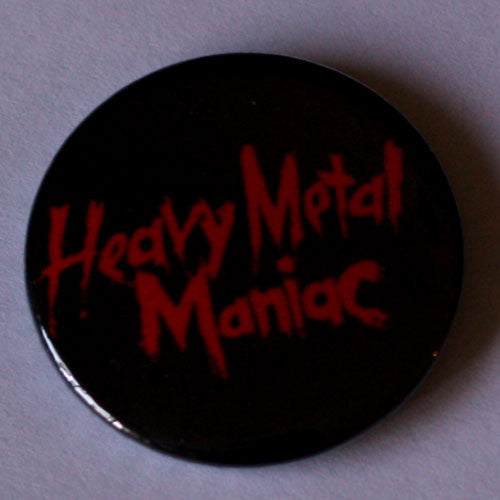 Exciter - Heavy Metal Maniac Title (Badge)