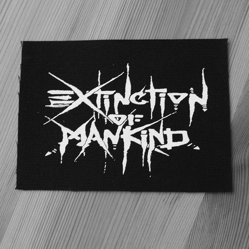 Extinction of Mankind - Logo (Printed Patch)