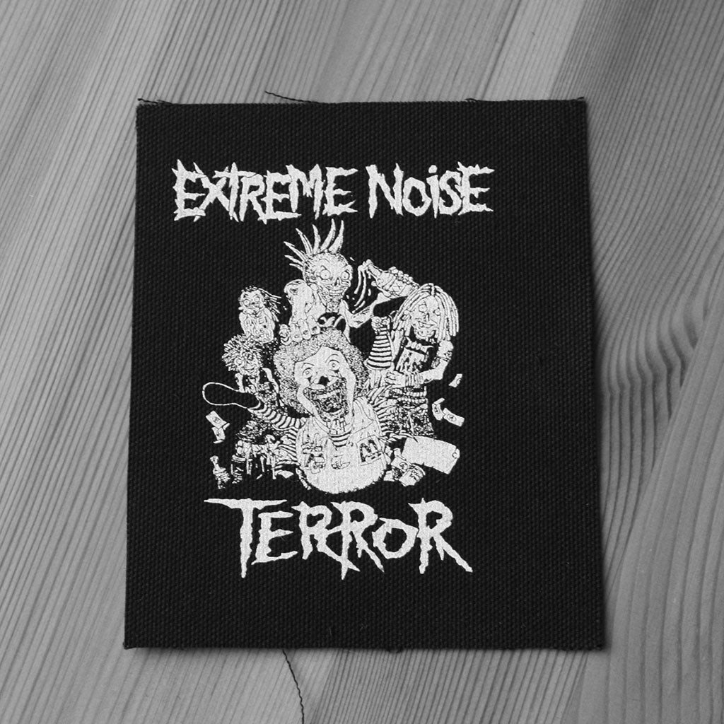 Extreme Noise Terror - In it for Life (Printed Patch)
