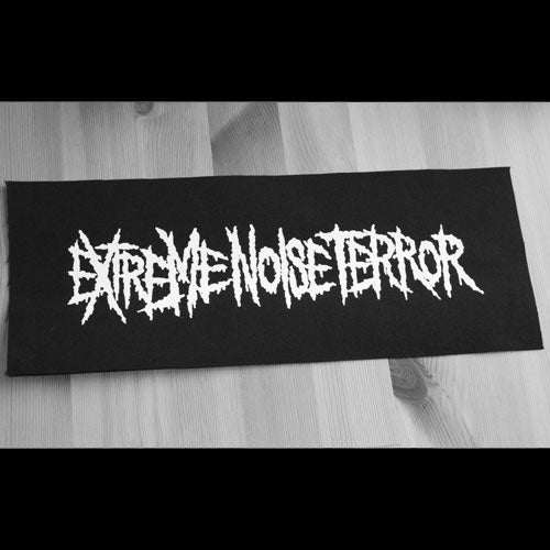 Extreme Noise Terror - Logo (Superstrip) (Backpatch)